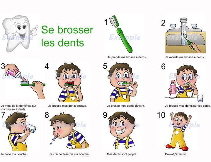 Extrêmement Comment se brosser les dents correctement ? QB12