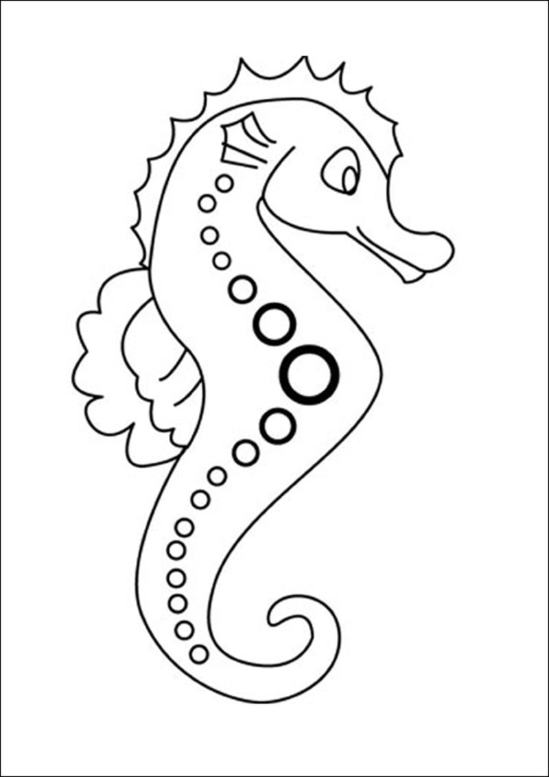 Coloriage Animaux Mer.Coloriage Animaux De La Mer