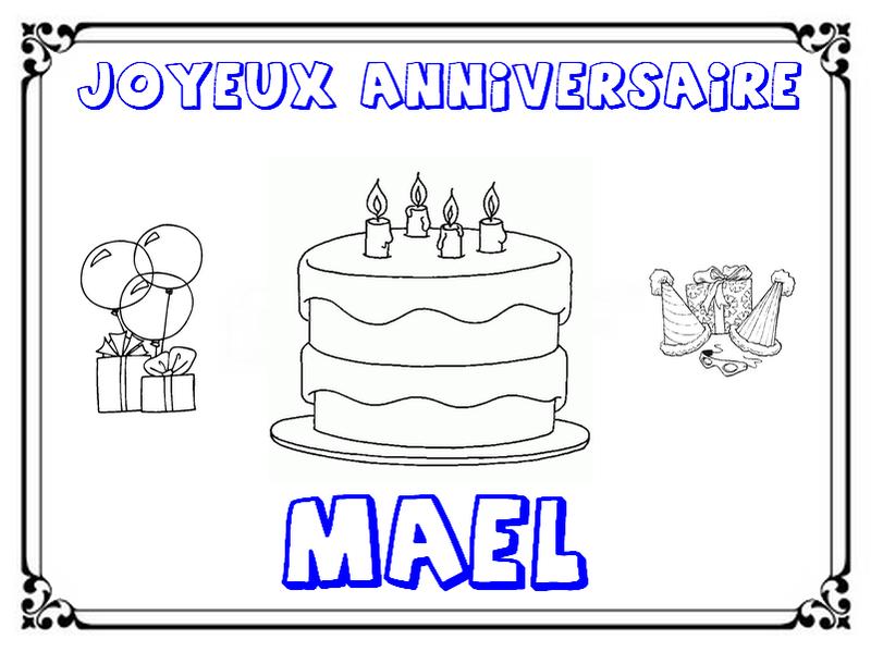 Coloriage joyeux anniversaire nounou dessin pour - Joyeux anniversaire a colorier ...