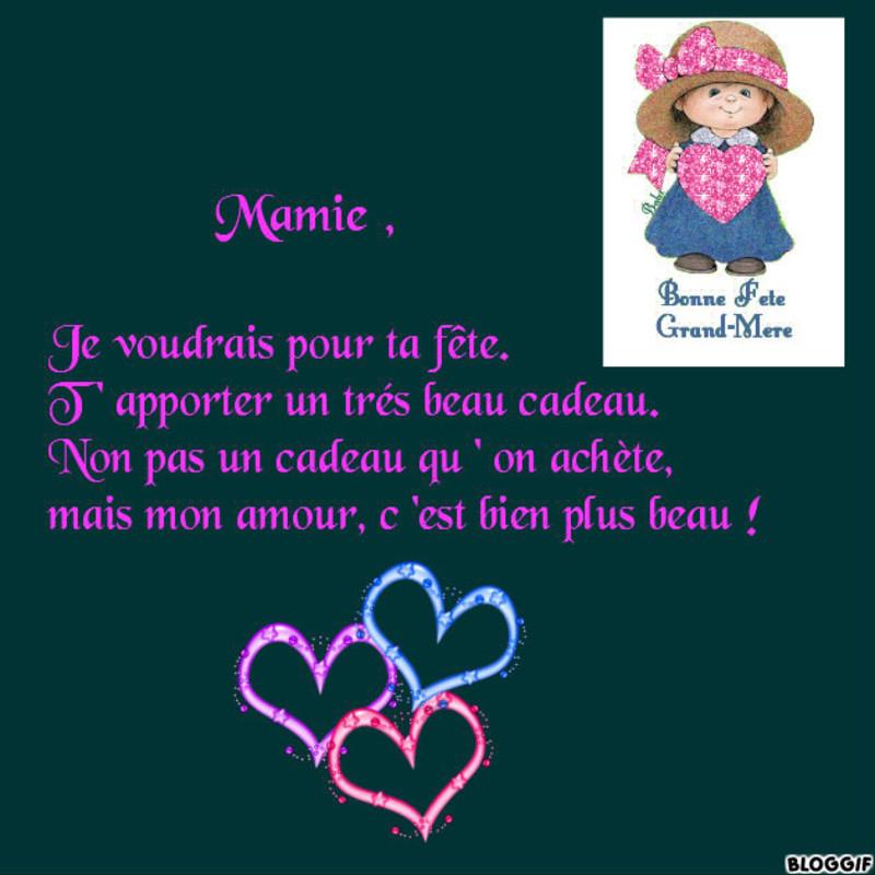 Poème Pour Mamie