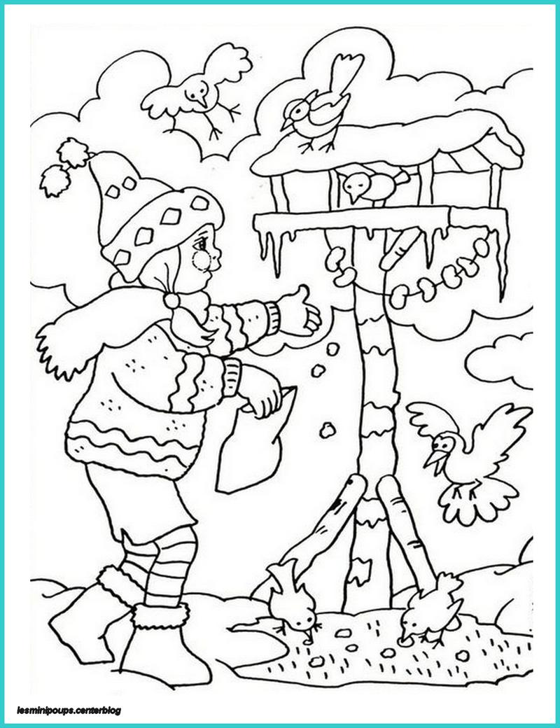 Coloriage lhiver www - Dessin sur l hiver ...