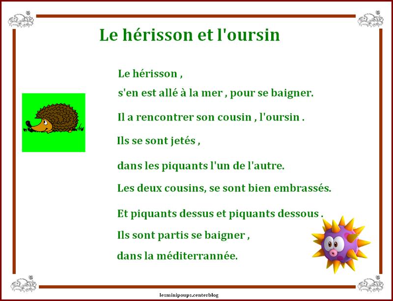 Le Hérisson Et Loursin