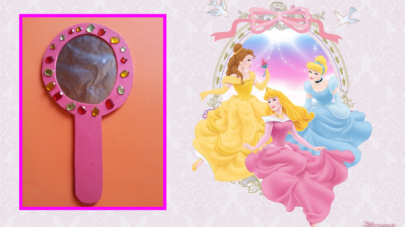 Miroir de for Miroir princesse