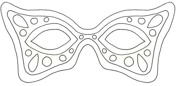 Masque de carnaval - Masque de carnaval a imprimer ...