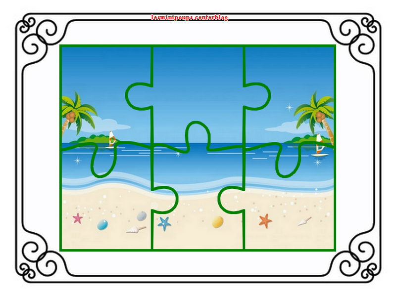 Puzzle enfant for Puzzle a colorier