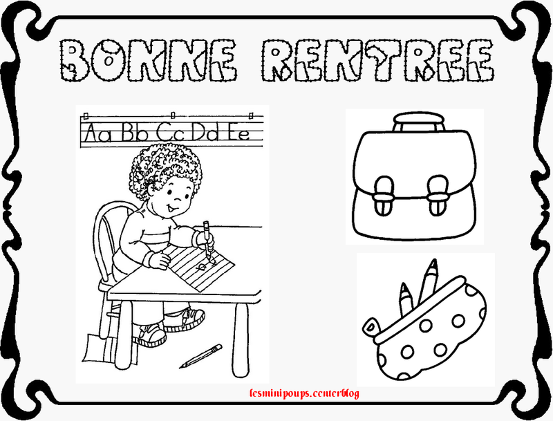 Bekannt coloriage rentree des classes - Page 2 LX54